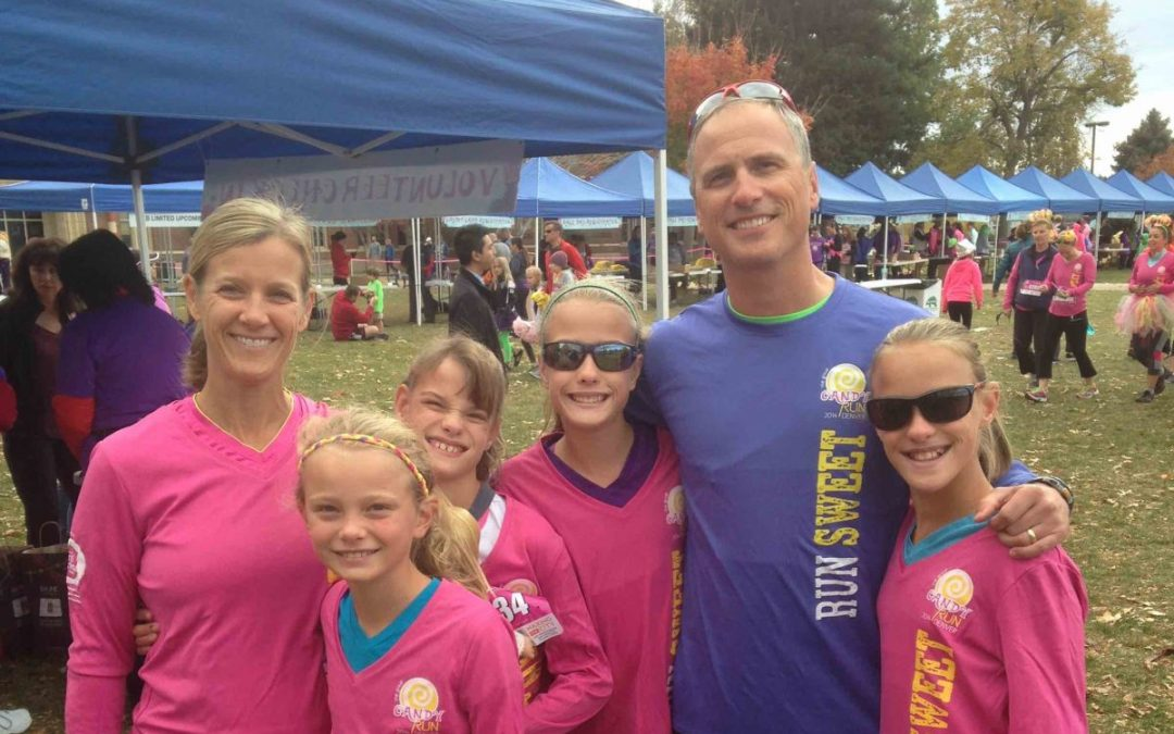 Family of Triplets Honor Angel Sister at The Great Candy Run Minneapolis