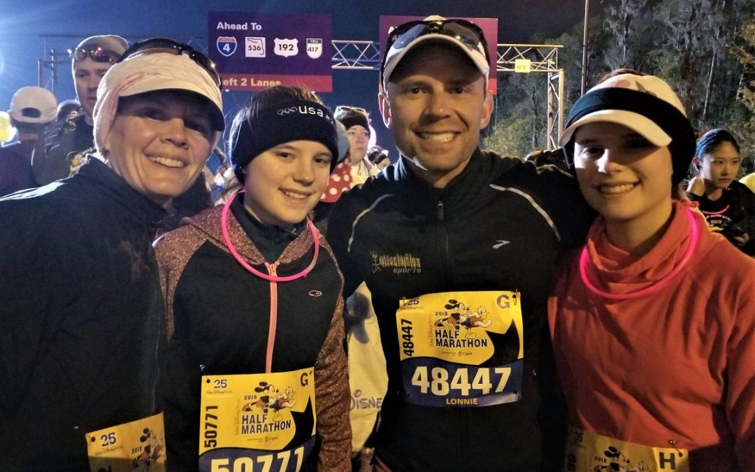 Twin Girls Teach Dad Valuable Life Lessons During Half-Marathon
