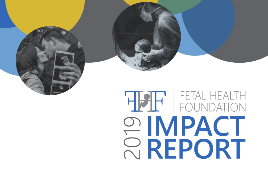 cover image for fetal health foundation annual report